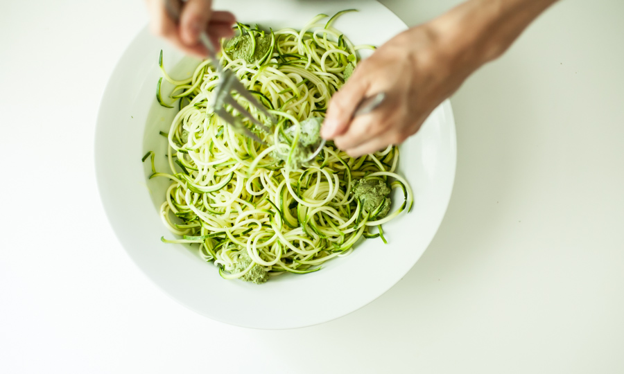 Nashville copywriter Shanna Mallon's photo of zucchini noodles
