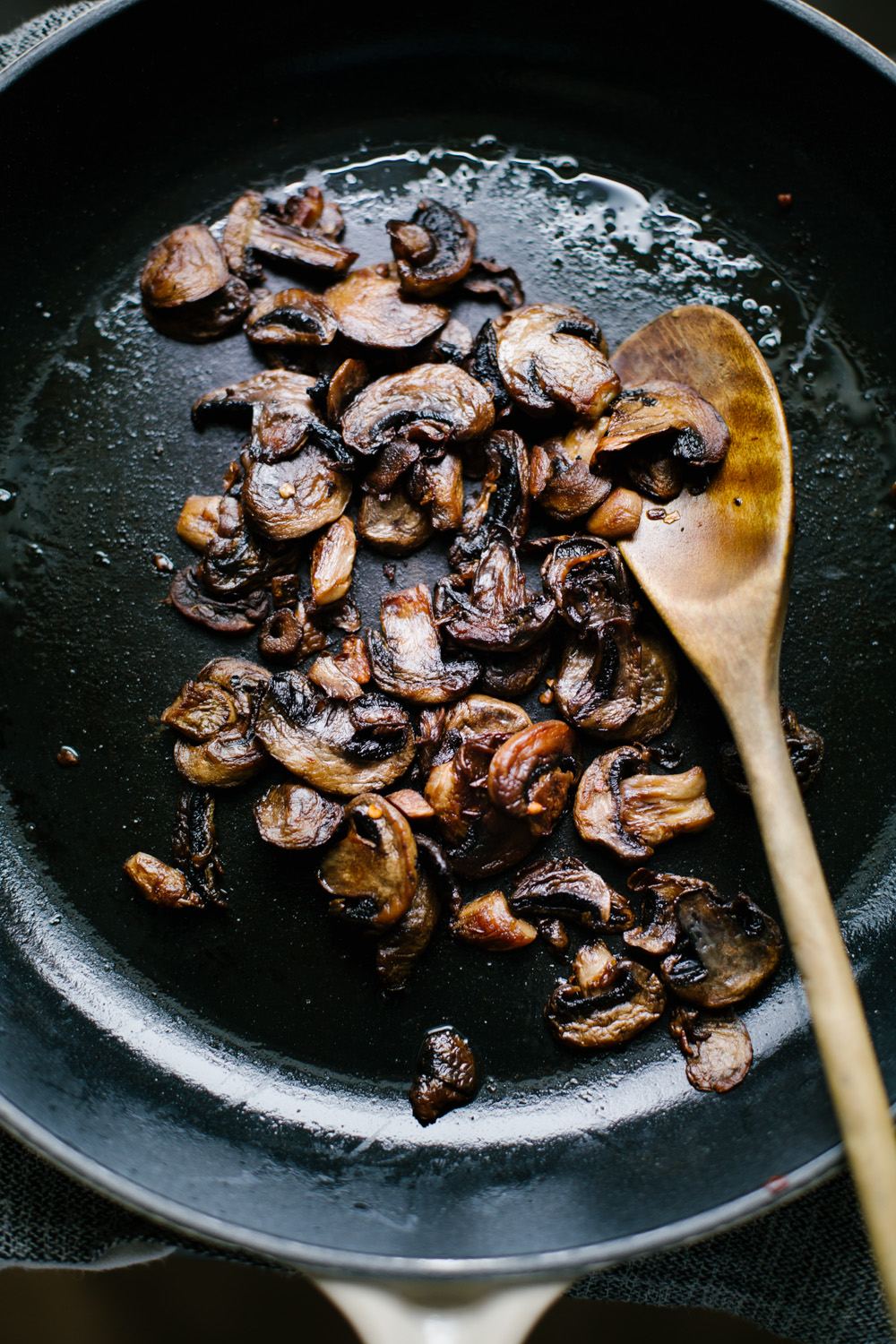 sauteed mushrooms / instagram go eat your bread with joy