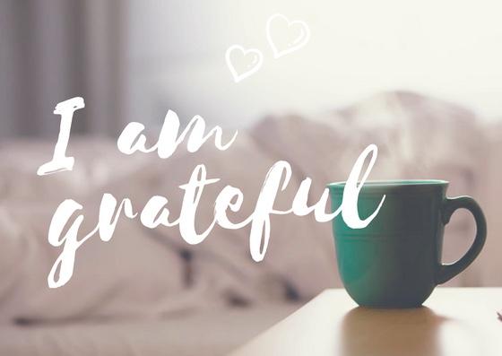 I am grateful