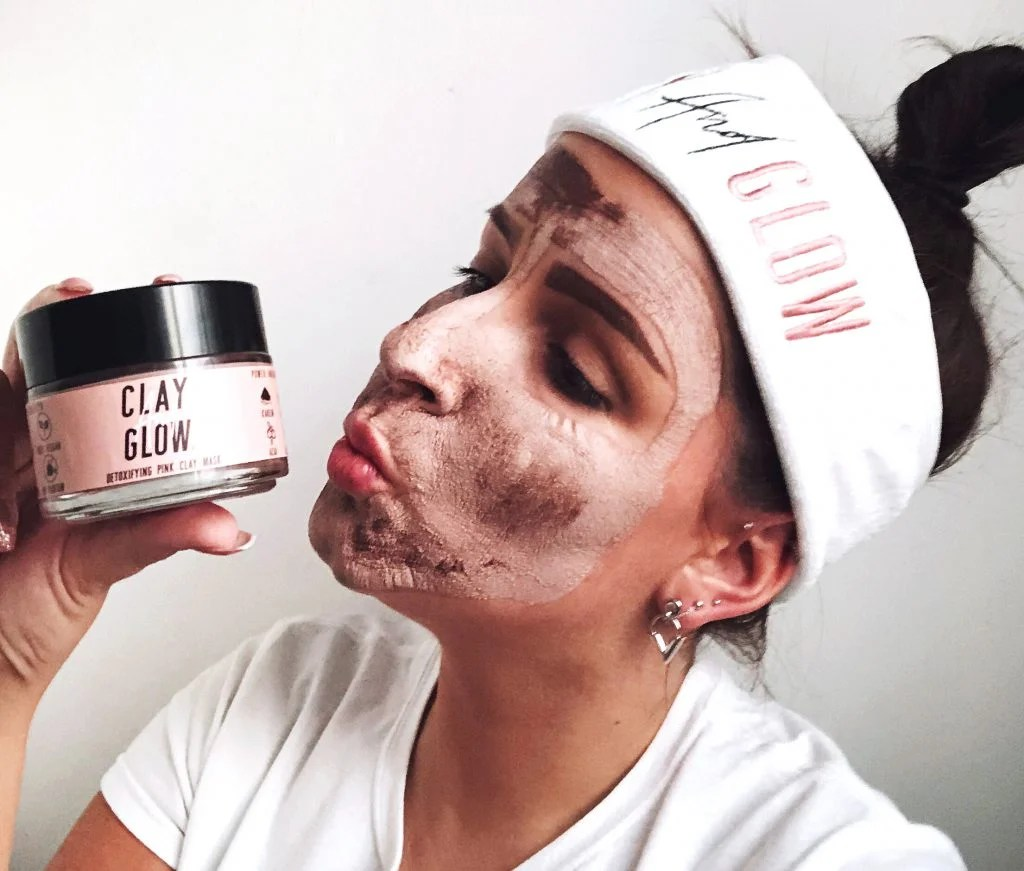PINK CLAY MASK | CLAY AND GLOW