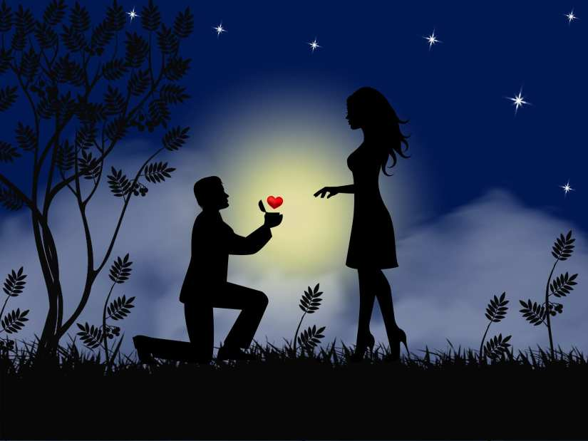 Mistakes in Romance Stories - Cute romantic couple