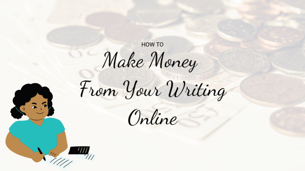 How to Make Money title with woman writing.