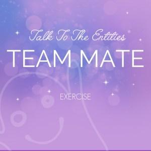 English: Team Mate Exercise