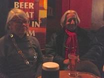 My English/Tunisian and Italian friends at the Cobblestone Pub.