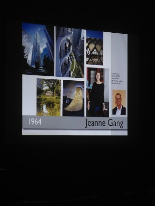 They discussed important architects and designers throughout history and from today.