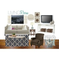 Client Design Board- A Very Gray/Blue Living Room ...