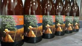 Herding Cats wine label