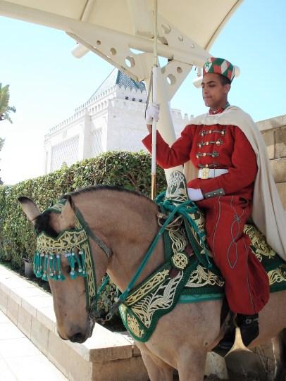 Rabat Royal Guard Mausoleum of Mohammed V