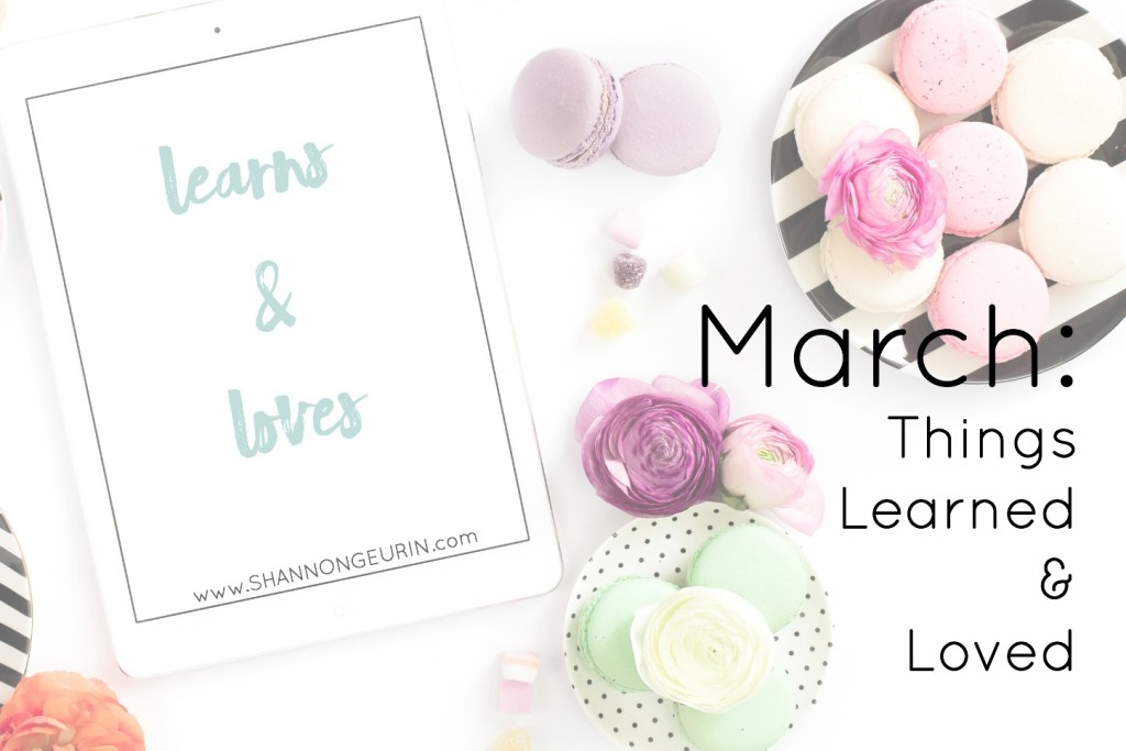 March learns and loves.