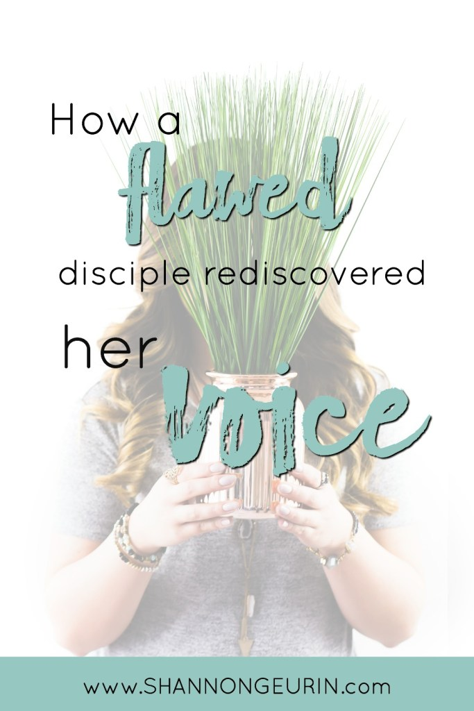 how a flawed disciple rediscovered her voice