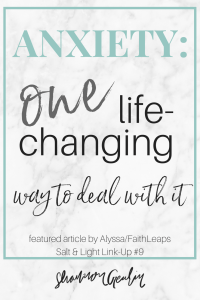 One, Simple, Life-Changing Way to Deal WIth Anxiety