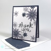 Flower Patch Thank You – Pals Paper Arts 234