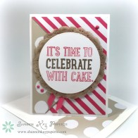 Celebrate With Cake – Pals Paper Arts 284