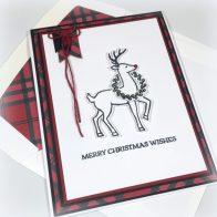 Stampin Up Santa's Sleigh Christmas Card Idea - Shannon Jaramillo Stampinup.jpg