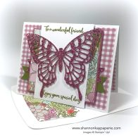 For A Wonderful Friend Birthday Card Ideas - Shannon Jaramillo Stampin Up