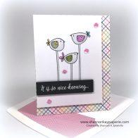 Foratweetfriend card ideas - shannon jaramillo shannonkaypaperie