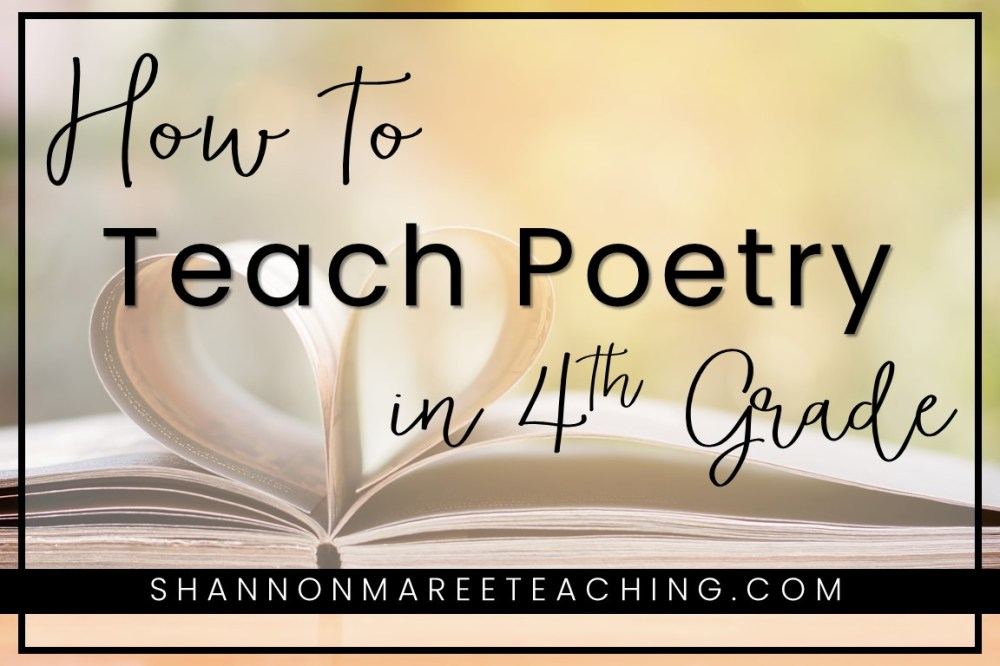 medium resolution of Poetry for 4th Grade: Make it Fun - Shannon Maree Teaching