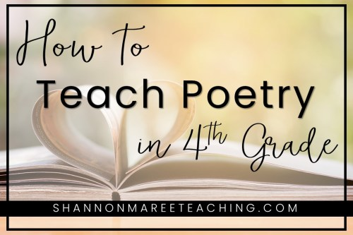 small resolution of Poetry for 4th Grade: Make it Fun - Shannon Maree Teaching