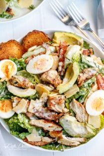 #6: http://cafedelites.com/2015/03/10/skinny-chicken-and-avocado-caesar-salad/