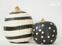 #10: http://sincerelysarad.com/unique-ways-to-decorate-pumpkins/