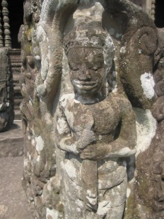 Lady Carvings on Angkor Temples