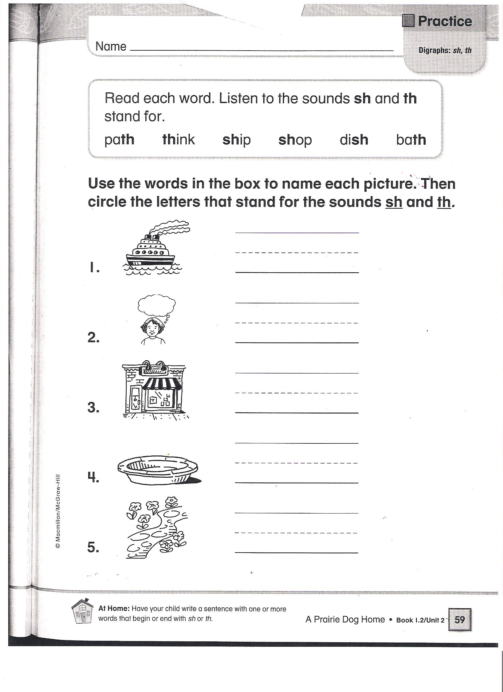 Playful Prairie Dogs Worksheet