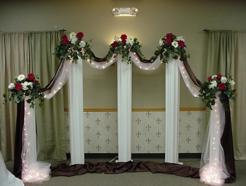 Shannons Custom Florals columns Wedding Rentals Springfield MO Eureka Springs (16)