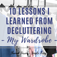 10 Things I Learned from Decluttering My Wardrobe