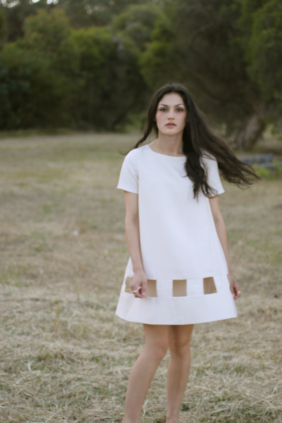 TV Eyes dress, Cameo the Label.