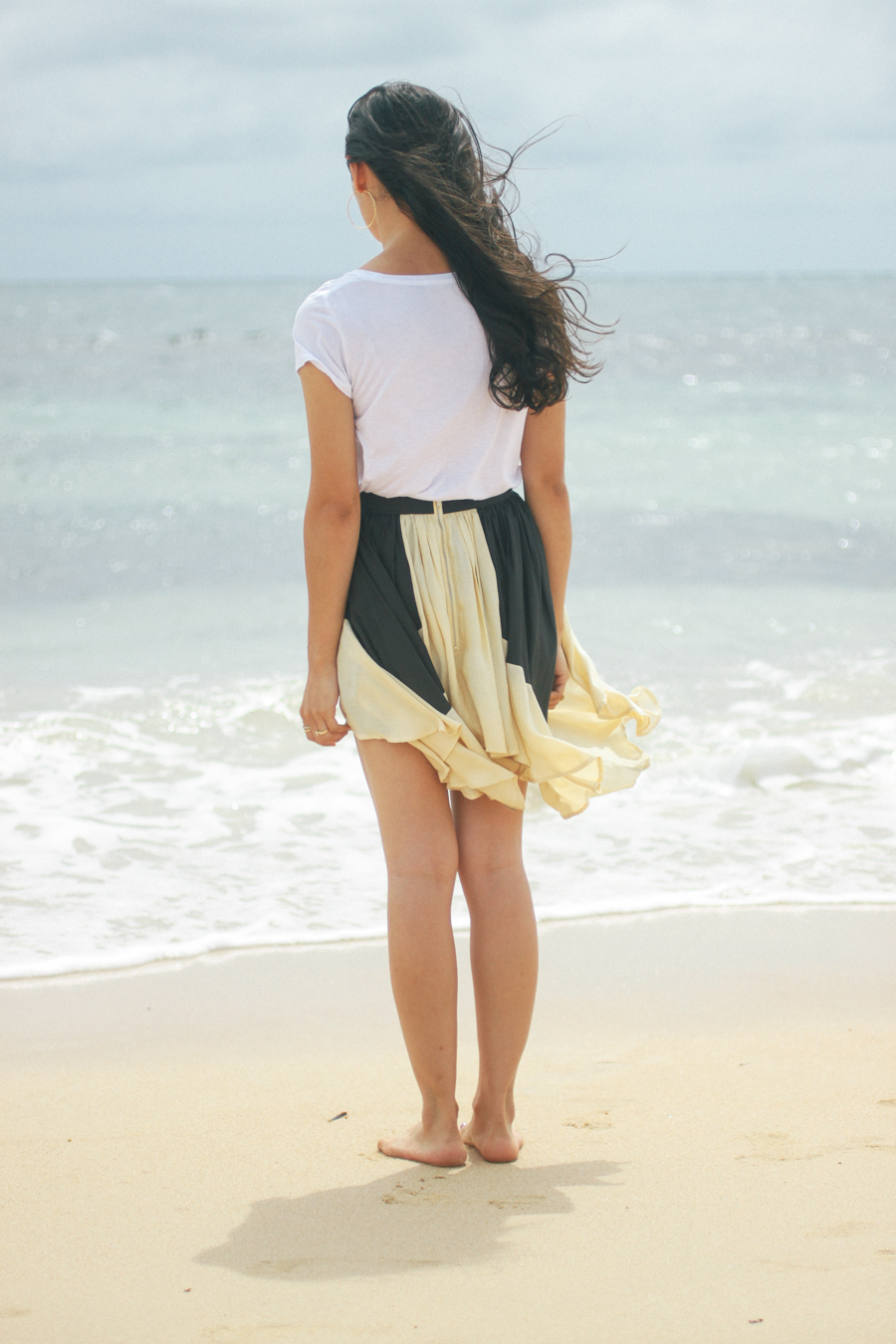 Cameo the Label skirt beach outfit.