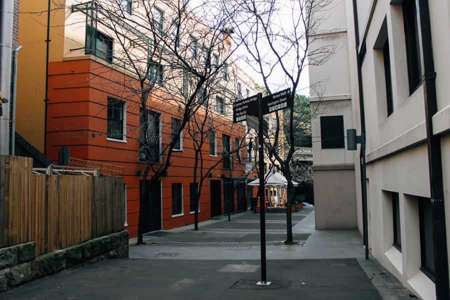 Alleyways in Sydney, Australia.