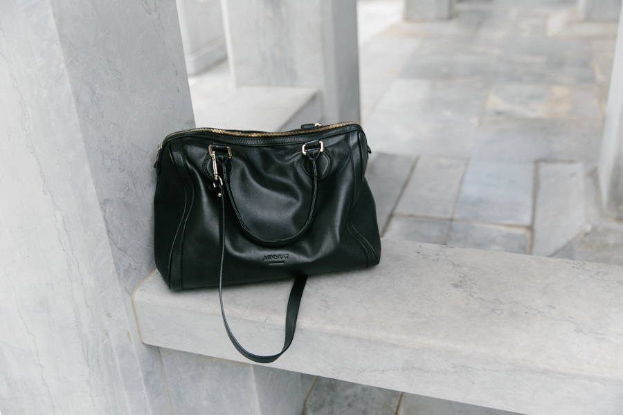 Minkskat Copenhagen Mira bag - the perfect black leather bag.