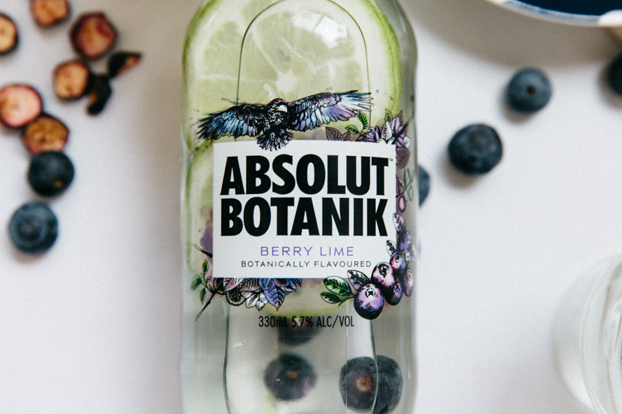 Berry lime Absolut Botanik.