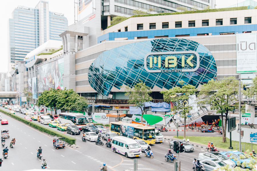 MBK shopping centre guide.