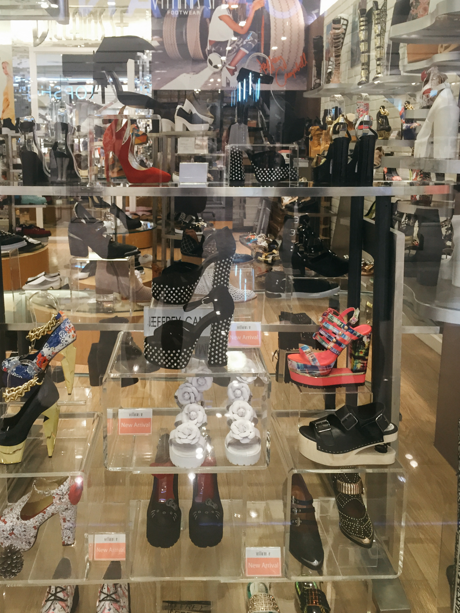 The best shoe store in Bangkok.