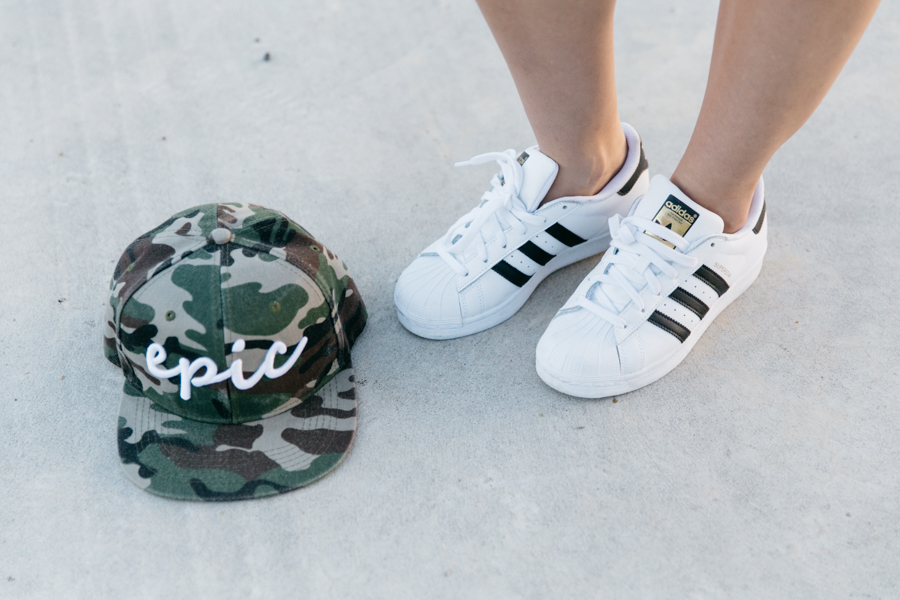 Epic snapback in Camo print from ZeroUV.
