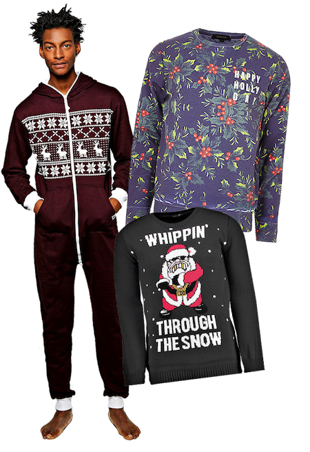 Men's Christmas clothing outfit ideas. Christmas gifts for him.