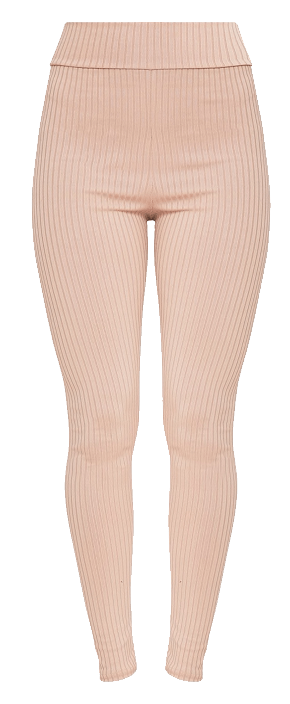 Ribbed leggings outfit.