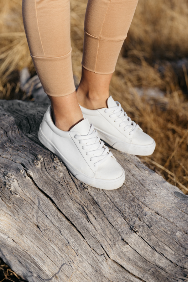 ASOS vegan white trainers review.