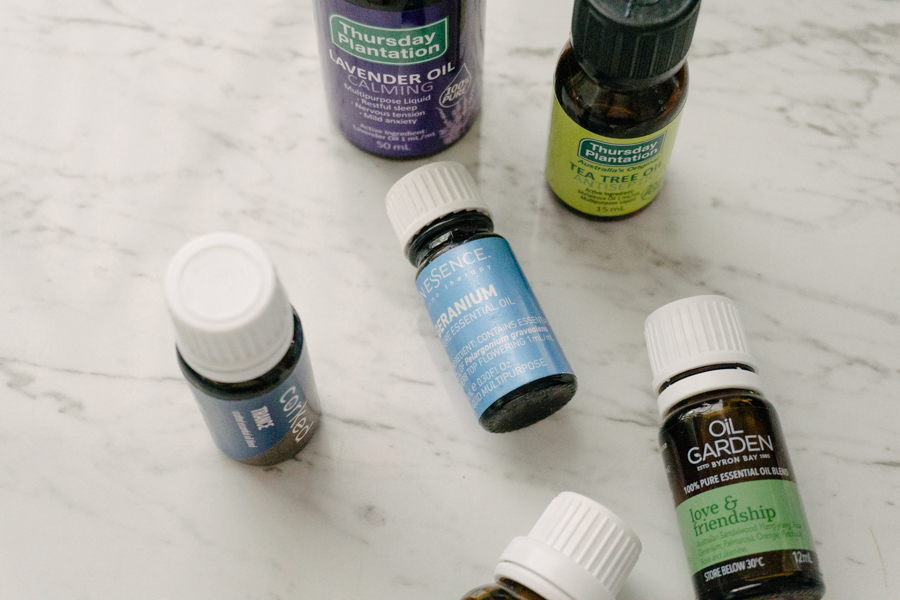 Essential oils for low waste living.