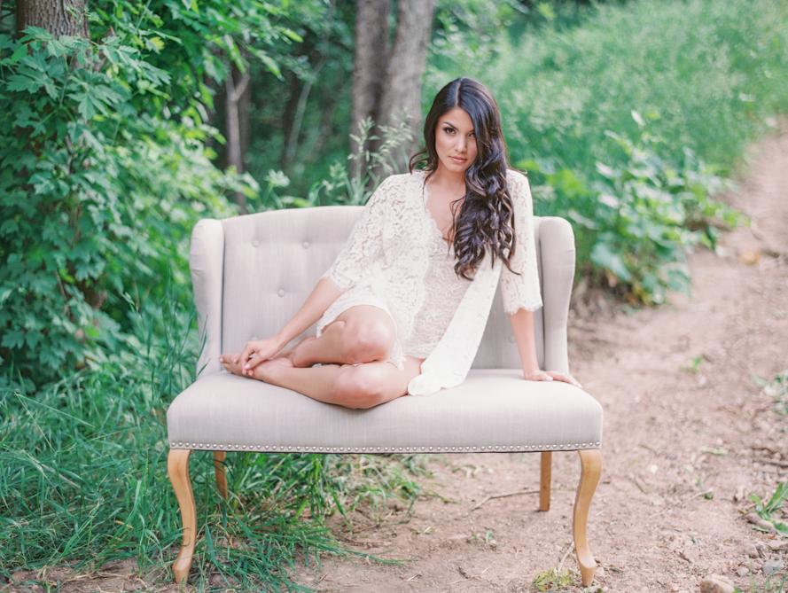 Organic Outdoor Boudoir  Shannon Von Eschen Photography