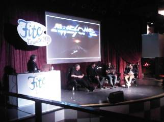 Panel at FITC 2011