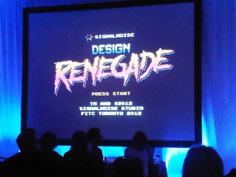 James White aka Design Renegade