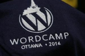 WordCamp Ottawa 2014 T-Shirt