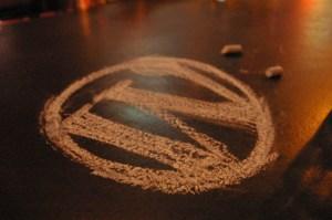 WordPress in Chalk