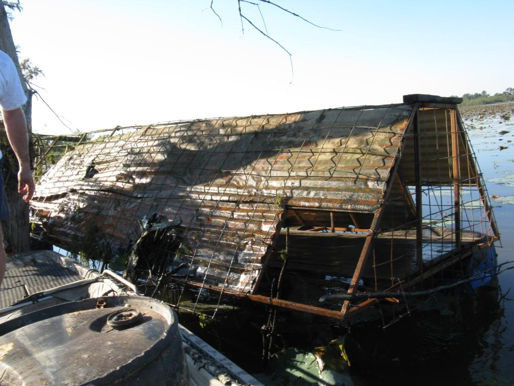 Duck Blind Becomes Authorities Blind? – ShantyboatLiving com