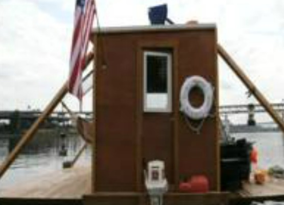 Friends float homemade houseboat down the Willamette   Video   OregonLive.com