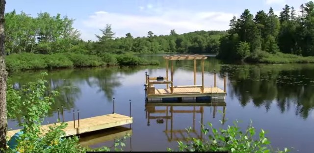 How to build an EPIC Floating Dock - YouTube.clipular
