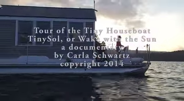 Tour of the Tiny Houseboat, A Documentary - YouTube.clipular