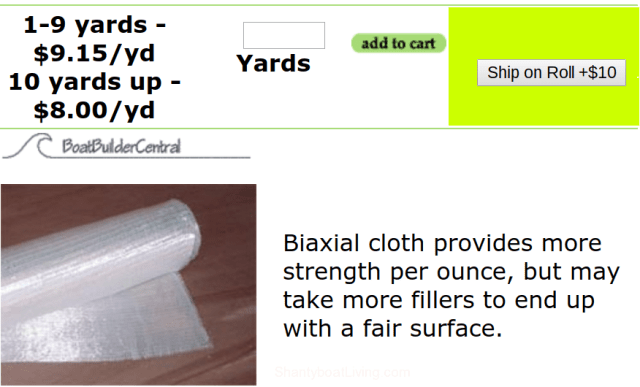 Biaxial Fiberglass Cloth - 12oz, 50- - 45-45.clipular